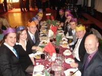 Highlight for Album: RHC Works Christmas Meal 2008